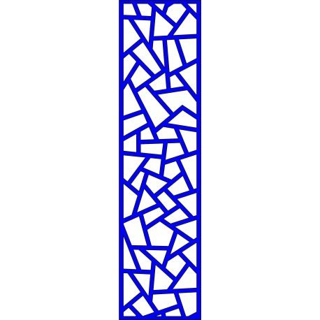 Cnc Panel Laser Cut Pattern File cn-l637 Free CDR Vectors Art