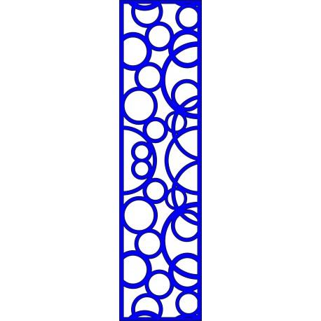 Cnc Panel Laser Cut Pattern File cn-l635 Free CDR Vectors Art