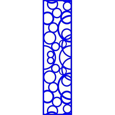 Cnc Panel Laser Cut Pattern File cn-l634 Free CDR Vectors Art