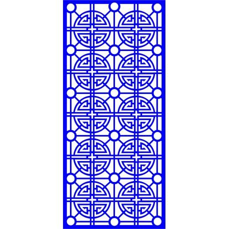 Cnc Panel Laser Cut Pattern File cn-l629 Free CDR Vectors Art