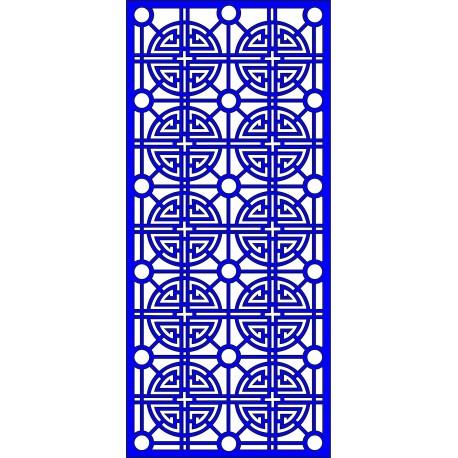 Cnc Panel Laser Cut Pattern File cn-l628 Free CDR Vectors Art