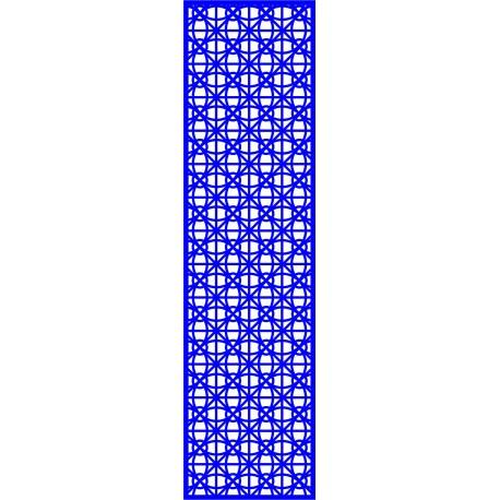Cnc Panel Laser Cut Pattern File cn-l627 Free CDR Vectors Art