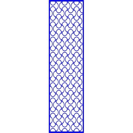 Cnc Panel Laser Cut Pattern File cn-l625 Free CDR Vectors Art
