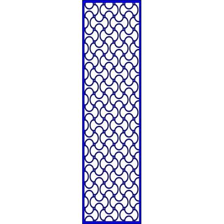 Cnc Panel Laser Cut Pattern File cn-l624 Free CDR Vectors Art