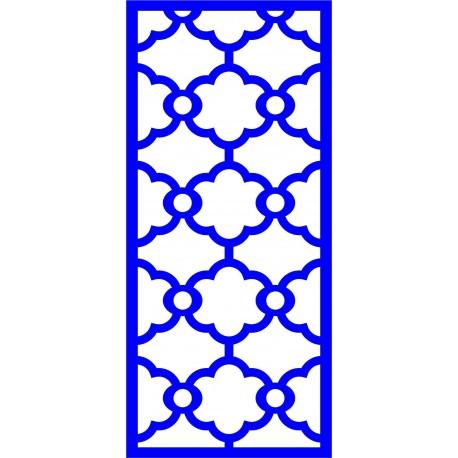 Cnc Panel Laser Cut Pattern File cn-l622 Free CDR Vectors Art
