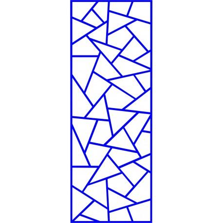 Cnc Panel Laser Cut Pattern File cn-l619 Free CDR Vectors Art