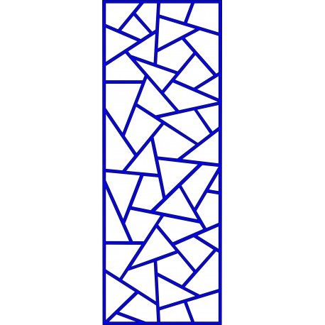 Cnc Panel Laser Cut Pattern File cn-l618 Free CDR Vectors Art