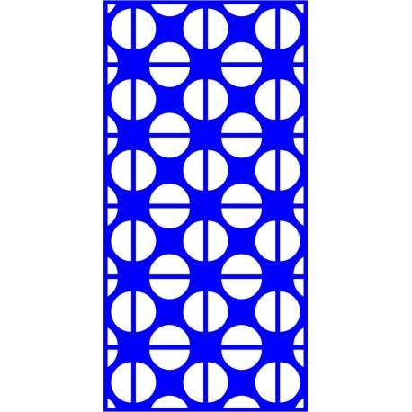 Cnc Panel Laser Cut Pattern File cn-l615 Free CDR Vectors Art