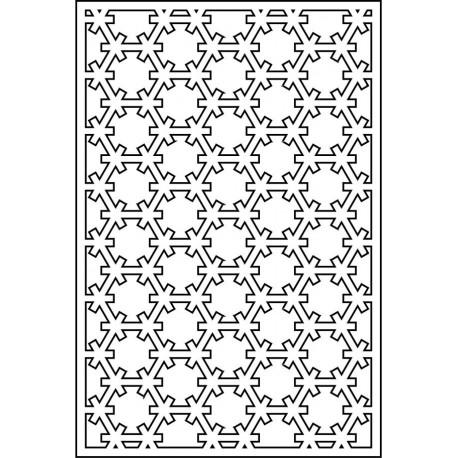 Cnc Panel Laser Cut Pattern File cn-l612 Free CDR Vectors Art