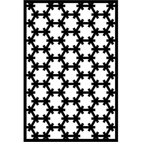 Cnc Panel Laser Cut Pattern File cn-l611 Free CDR Vectors Art