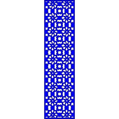 Cnc Panel Laser Cut Pattern File cn-l598 Free CDR Vectors Art