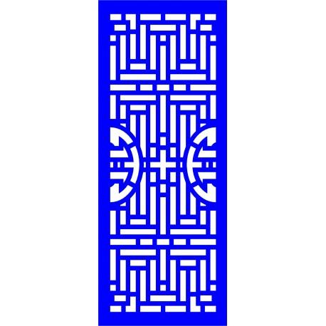 Cnc Panel Laser Cut Pattern File cn-l593 Free CDR Vectors Art
