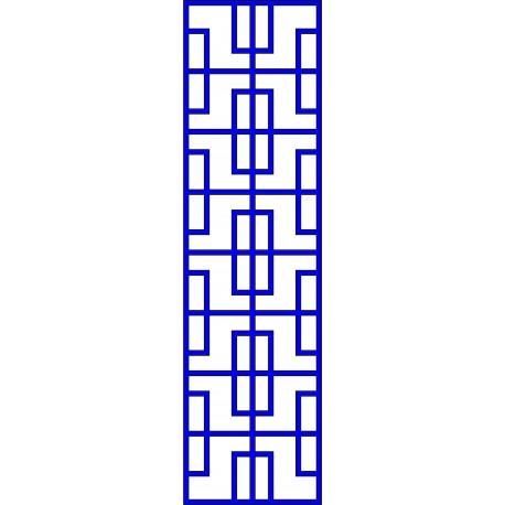 Cnc Panel Laser Cut Pattern File cn-l588 Free CDR Vectors Art