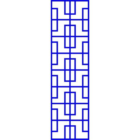 Cnc Panel Laser Cut Pattern File cn-l587 Free CDR Vectors Art