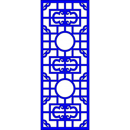 Cnc Panel Laser Cut Pattern File cn-l586 Free CDR Vectors Art