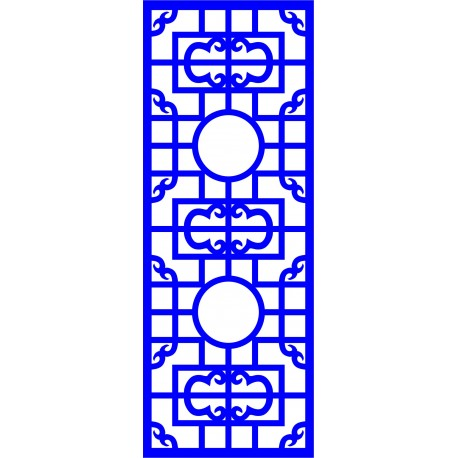 Cnc Panel Laser Cut Pattern File cn-l585 Free CDR Vectors Art