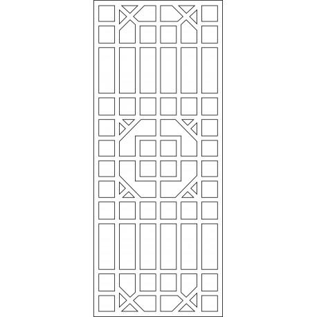 Cnc Panel Laser Cut Pattern File cn-l584 Free CDR Vectors Art