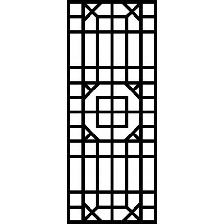 Cnc Panel Laser Cut Pattern File cn-l583 Free CDR Vectors Art