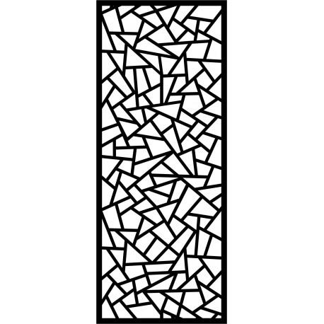 Cnc Panel Laser Cut Pattern File cn-l579 Free CDR Vectors Art