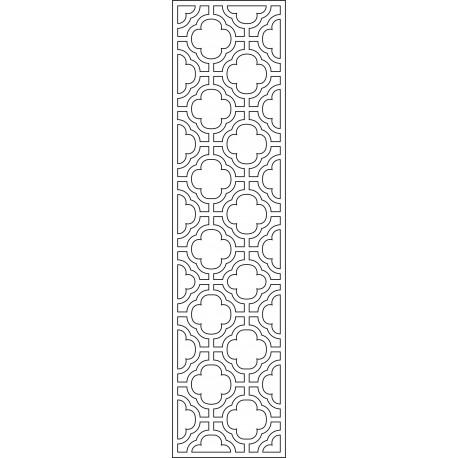 Cnc Panel Laser Cut Pattern File cn-l578 Free CDR Vectors Art