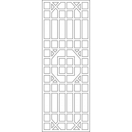 Cnc Panel Laser Cut Pattern File cn-l576 Free CDR Vectors Art
