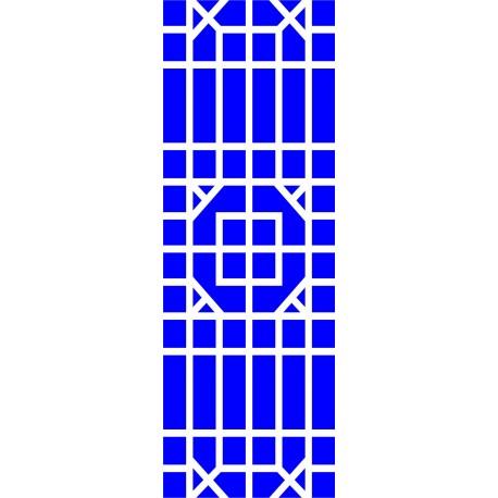 Cnc Panel Laser Cut Pattern File cn-l575 Free CDR Vectors Art