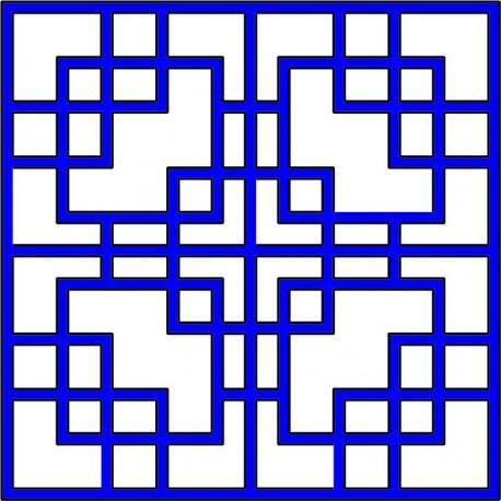 Cnc Panel Laser Cut Pattern File cn-l574 Free CDR Vectors Art