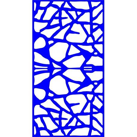 Cnc Panel Laser Cut Pattern File cn-l563 Free CDR Vectors Art