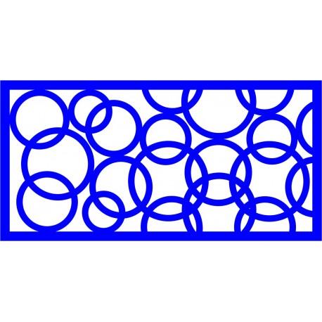 Cnc Panel Laser Cut Pattern File cn-l560 Free CDR Vectors Art