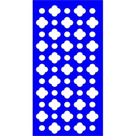 Cnc Panel Laser Cut Pattern File cn-l558 Free CDR Vectors Art
