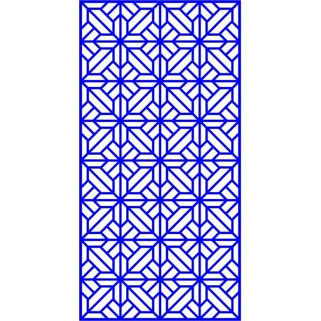 Cnc Panel Laser Cut Pattern File cn-l556 Free CDR Vectors Art