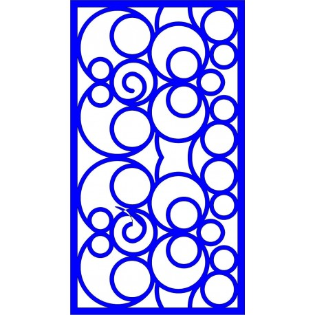 Cnc Panel Laser Cut Pattern File cn-l552 Free CDR Vectors Art