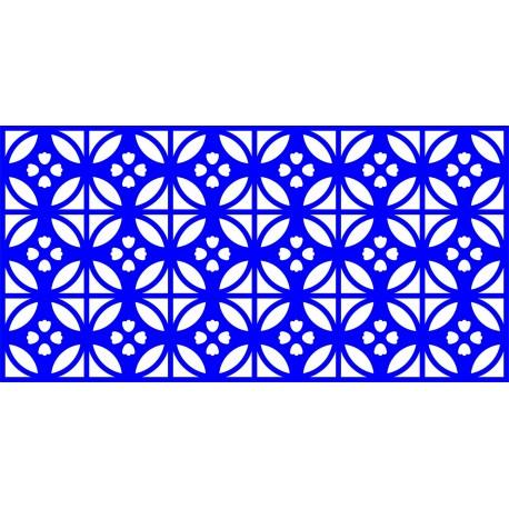 Cnc Panel Laser Cut Pattern File cn-l548 Free CDR Vectors Art