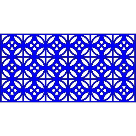 Cnc Panel Laser Cut Pattern File cn-l546 Free CDR Vectors Art