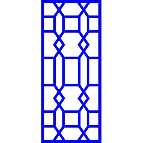 Cnc Panel Laser Cut Pattern File cn-l538 Free CDR Vectors Art