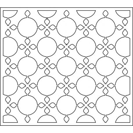 Cnc Panel Laser Cut Pattern File cn-l537 Free CDR Vectors Art
