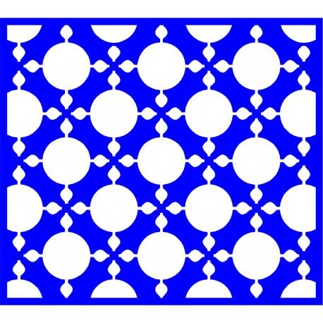 Cnc Panel Laser Cut Pattern File cn-l536 Free CDR Vectors Art