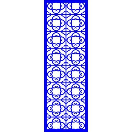 Cnc Panel Laser Cut Pattern File cn-l532 Free CDR Vectors Art