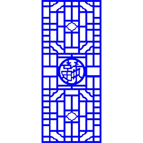 Cnc Panel Laser Cut Pattern File cn-l525 Free CDR Vectors Art