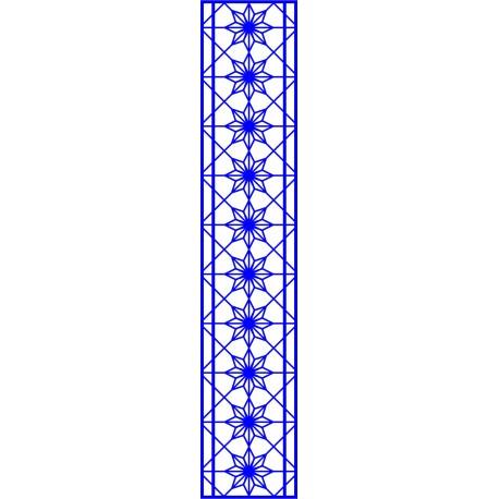 Cnc Panel Laser Cut Pattern File cn-l523 Free CDR Vectors Art