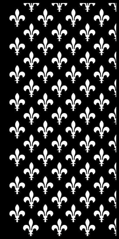 Fleur De Lis Seamless Pattern Free CDR Vectors Art