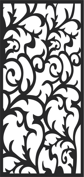 Abstract Floral Jali Patterns Free CDR Vectors Art