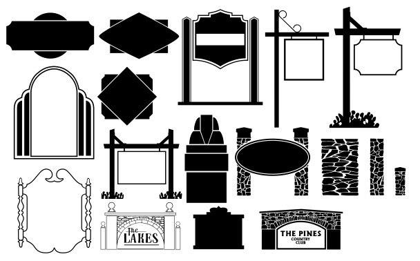 Beautiful Frame Collection Oforml Rama Free CDR Vectors Art