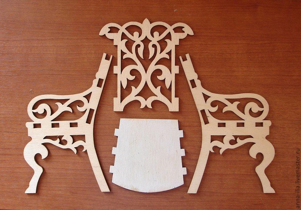 Laser Cut Chair Design Stul Rez Free CDR Vectors Art