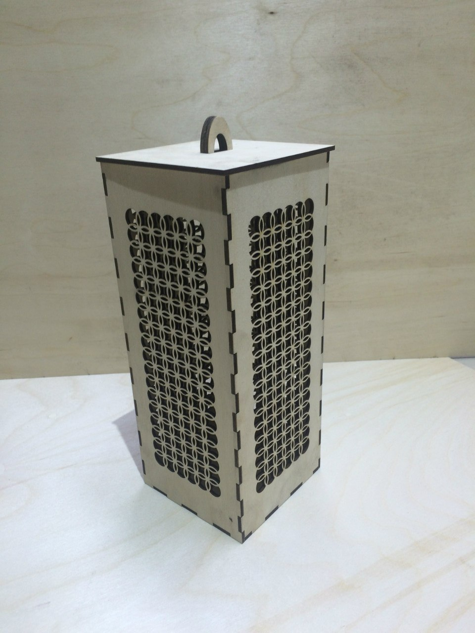 Laser Cut Wooden Storage Box Free CDR Vectors Art