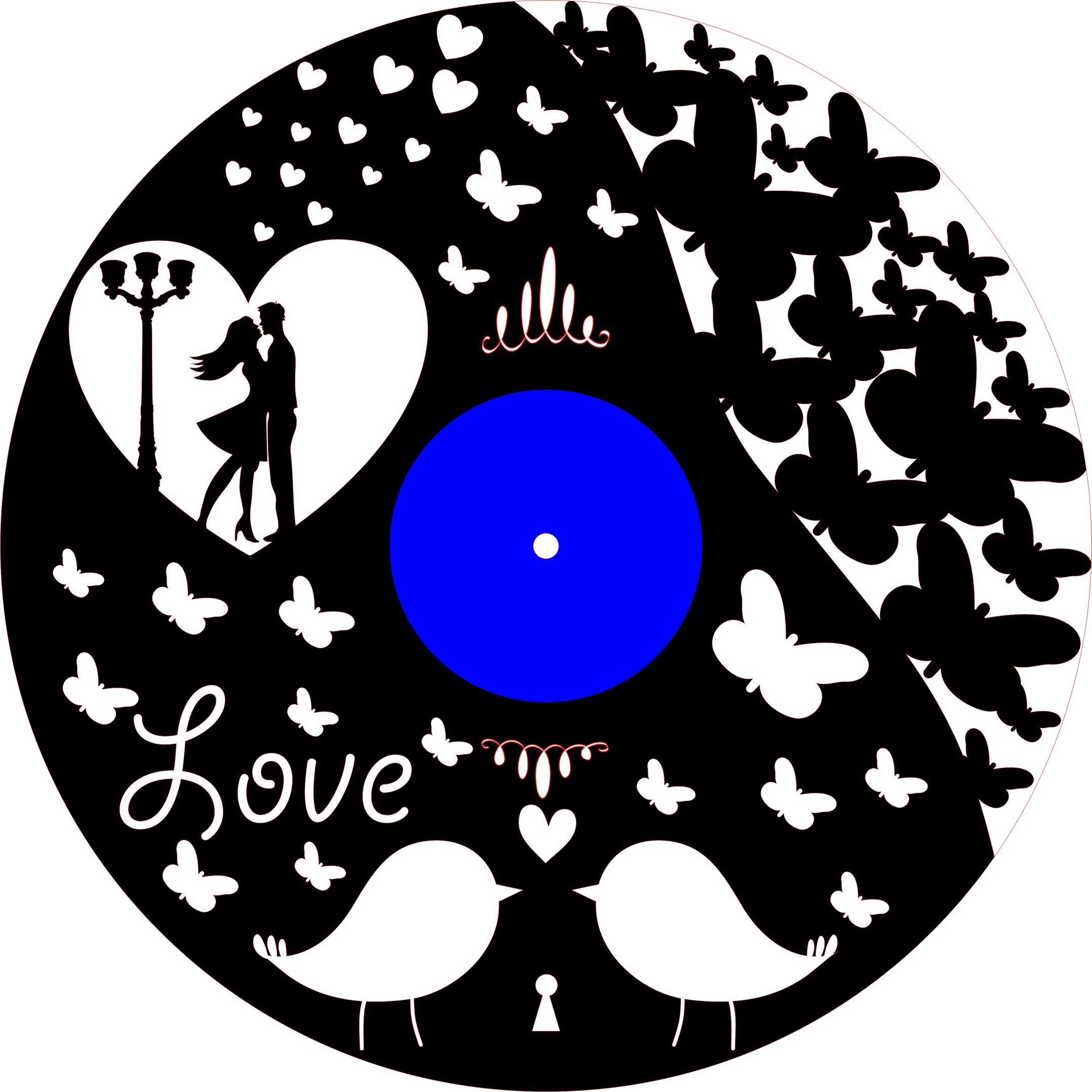 Gotov 2 Love And Heart Free CDR Vectors Art