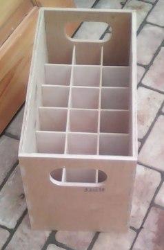 Laser Cut Wooden Box For Bottles Free CDR Vectors Art