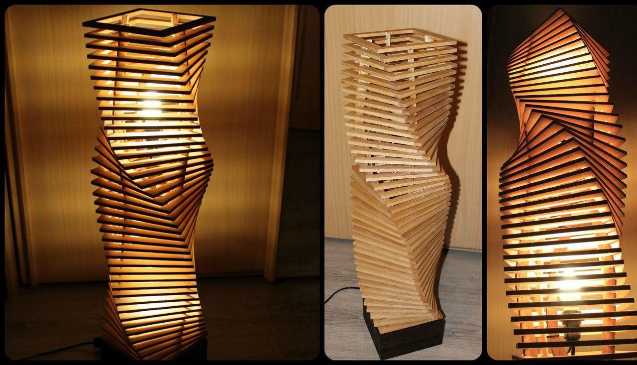 Nochnik Neboskreb Lamp Free CDR Vectors Art