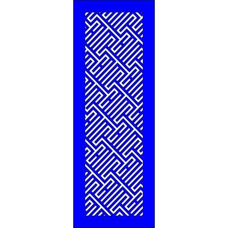 Cnc Panel Laser Cut Pattern File cn-l517 Free CDR Vectors Art