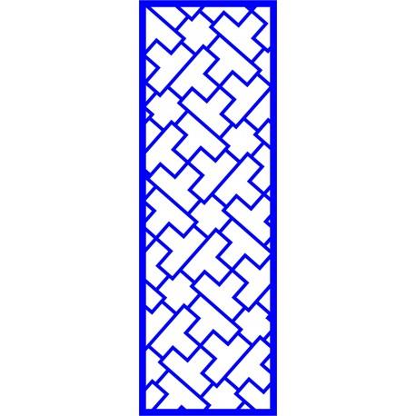 Cnc Panel Laser Cut Pattern File cn-l515 Free CDR Vectors Art